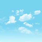 天空和多云 图库摄影