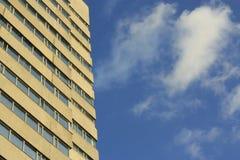天空和大厦 库存图片