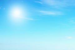 天空和海 免版税库存图片