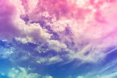 天空和自然 库存图片