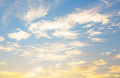 天空和自然 库存照片