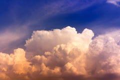 天空和自然 图库摄影