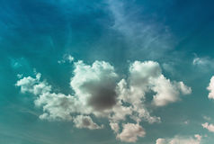 天空和自然 免版税库存图片
