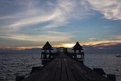 天空在泰国 免版税库存图片