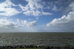天空在荷兰 免版税库存图片