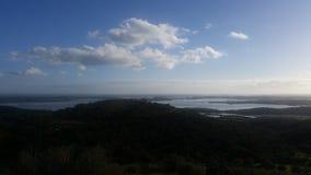天空在阿连特茹 免版税库存图片