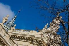 天空在巴黎 免版税图库摄影
