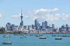 天空塔在新西兰 免版税库存照片