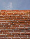 天空墙壁 免版税库存照片