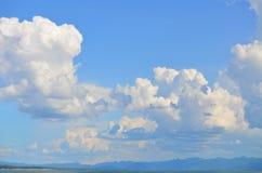 天空墙纸和天空照片 免版税库存图片