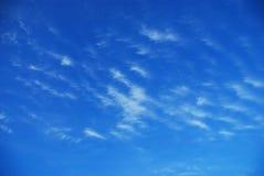 天空夏天 库存图片
