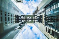 天空大阳台在梅田 库存照片