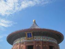 天空寺庙  库存图片