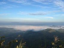 天空山景 图库摄影