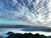 天空山景 库存图片