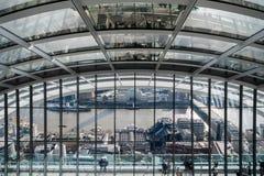 天空庭院在伦敦市 免版税图库摄影