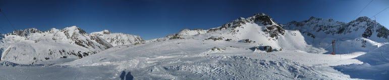 天空提洛尔蒂罗尔冬天 免版税库存图片
