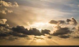 天空摘要 库存照片