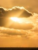 天空摘要 库存图片