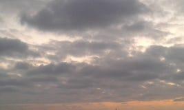 天空摩洛哥卡萨布兰卡 免版税库存照片