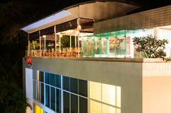 天空旅馆普吉岛-屋顶顶面餐馆 免版税库存图片