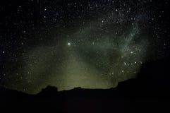 天空星形 图库摄影