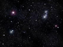 天空星形 向量例证