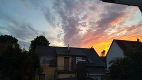 天空是限额 库存照片