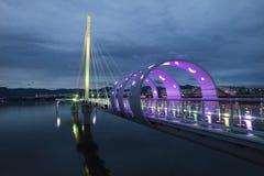天空桥梁 库存图片