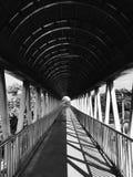 天空桥梁 免版税库存照片