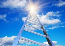 天空楼梯 免版税库存图片
