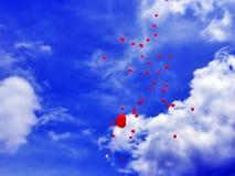 天空的上升 免版税库存照片