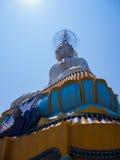 天空的大菩萨在泰国 免版税库存照片