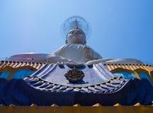 天空的大菩萨在泰国 库存照片