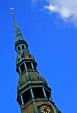 天空的教会 库存照片