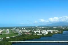 从天空的波多黎各 库存图片