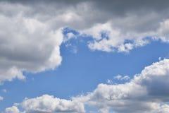 天空的流明 图库摄影