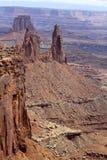 天空的海岛, Canyonlands国家公园,犹他 免版税图库摄影