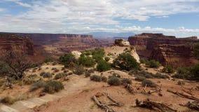 天空的海岛, Canyonlands 免版税图库摄影