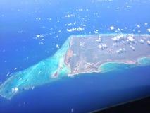 天空的海岛 免版税库存照片