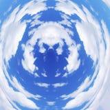 天空的深度 免版税库存图片