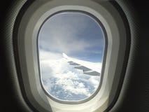 从天空的看法 免版税库存图片
