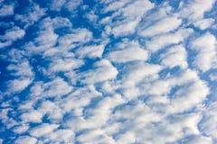 天空的秀丽与云彩和太阳的 图库摄影