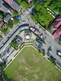 从天空的空中Photoshot 库存照片