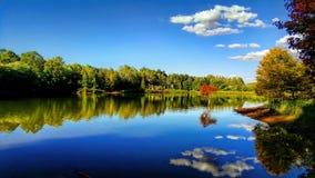 天空的镜子 免版税库存图片