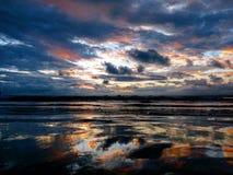 天空的颜色 库存照片