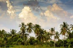 天空的阴云密布和阴影 免版税图库摄影