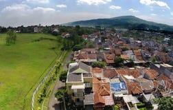 从天空的Bukit Sentul 免版税库存照片
