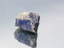 天空的Lazurite石头 库存照片