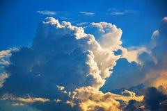 天空看法  免版税库存图片